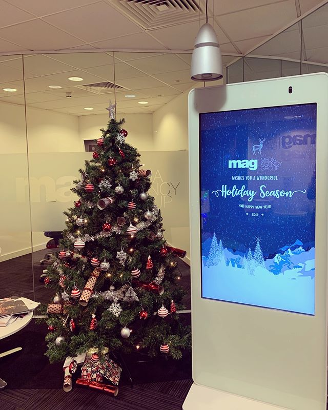 Season's greetings from the team here at MAG 🎄🎁