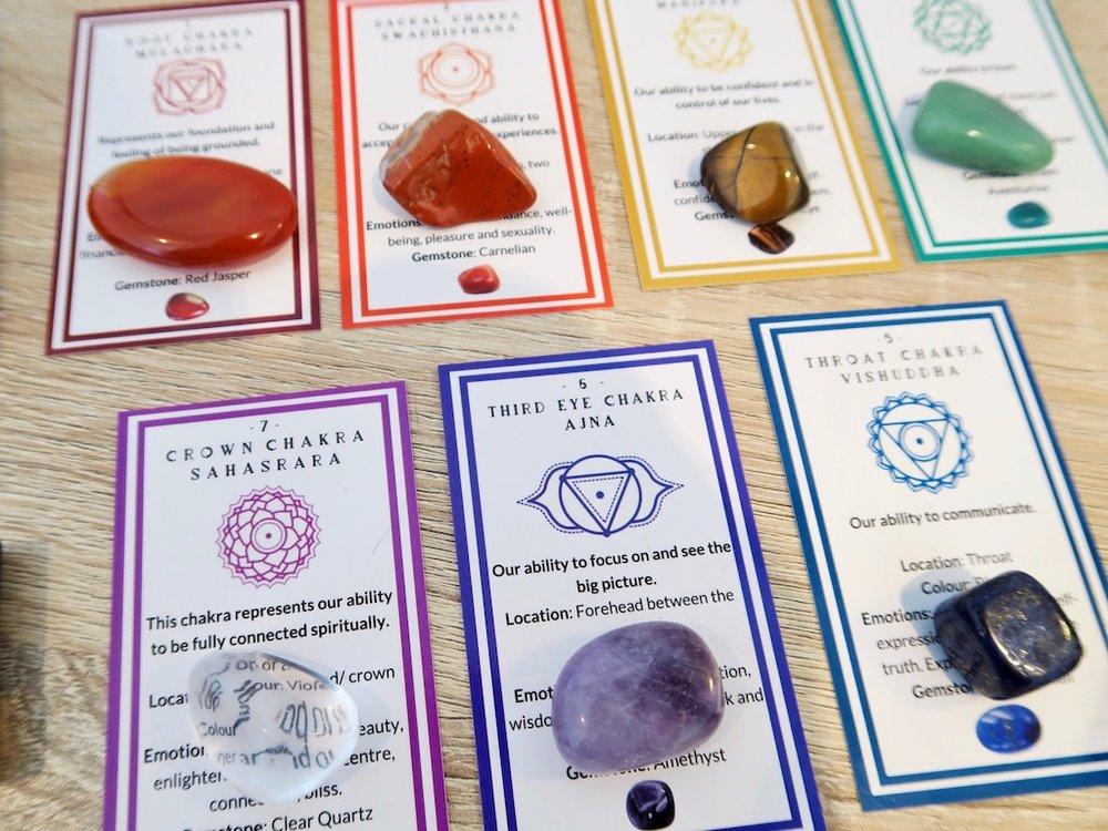 chakracardsandstones