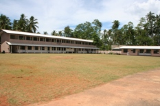 New classrooms and playing field