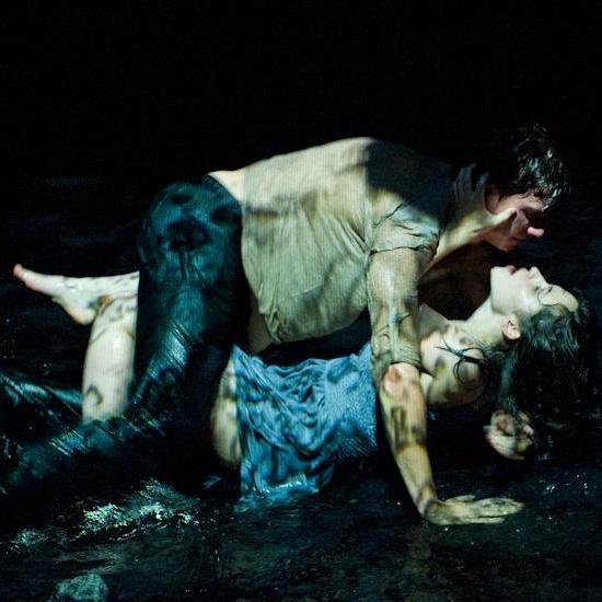 the raven; een requiem   Daria Bukvic / Frascat Theatre, Amsterdam 2012