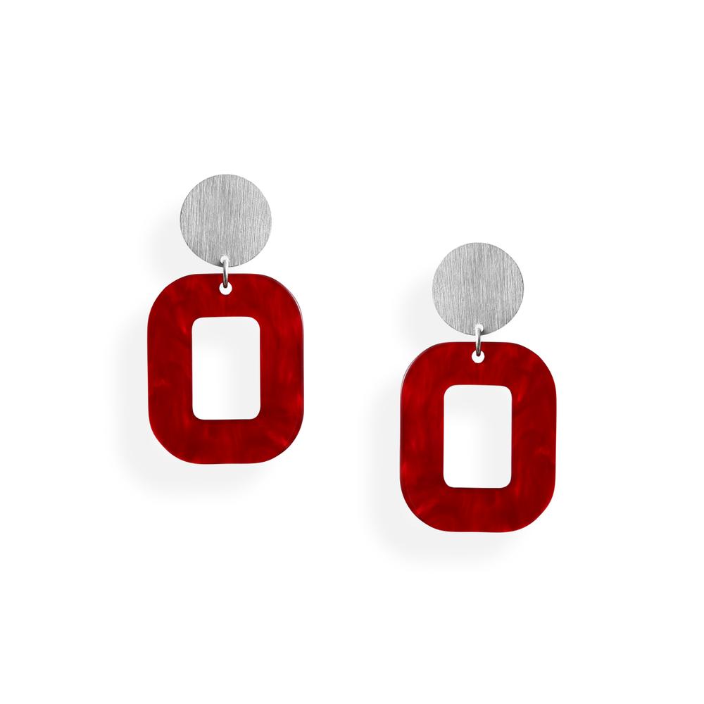 rød hvid baby rosa øreringe persuede jewellery smykker københavn