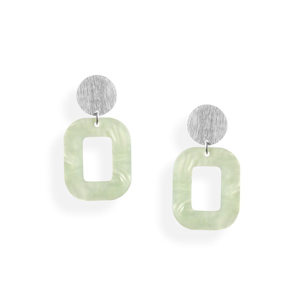 pastelgrøn hvid baby rosa øreringe persuede jewellery smykker københavn