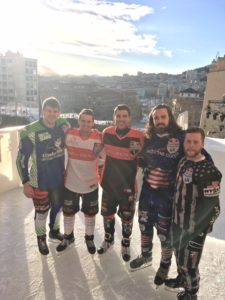 Our Crashed Ice Athletes