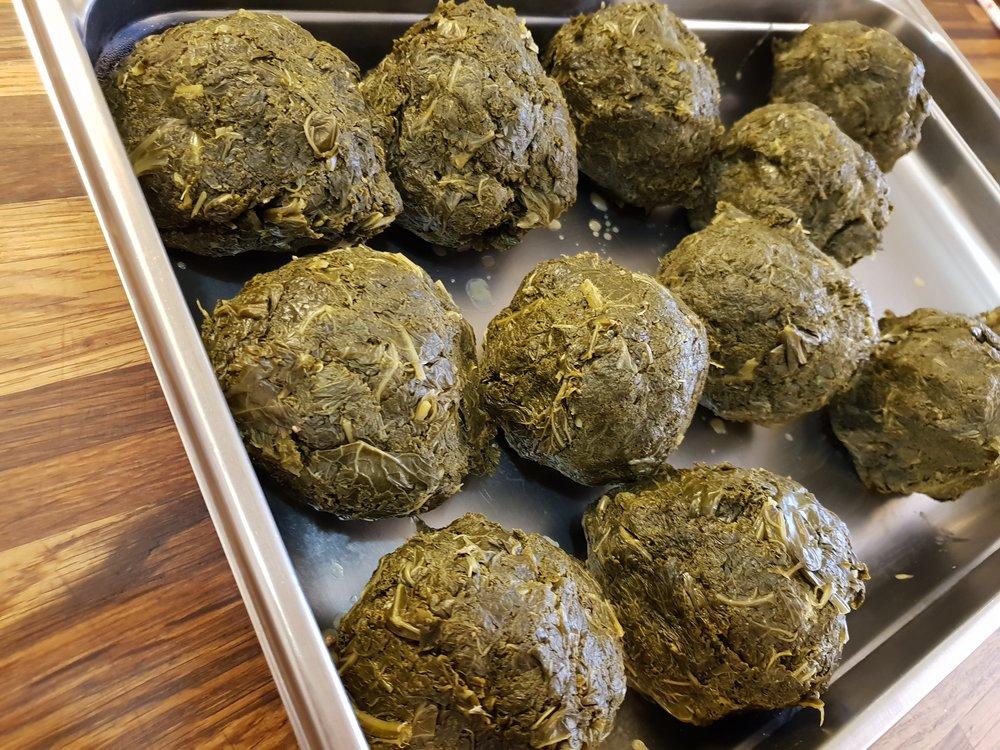 Grønkåls boller