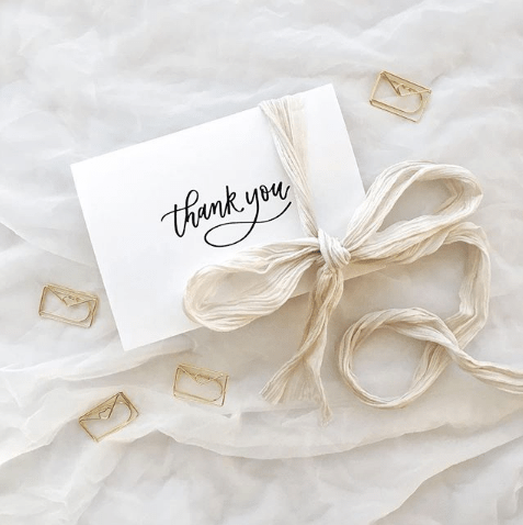 Light of Leni | Thank You Cards