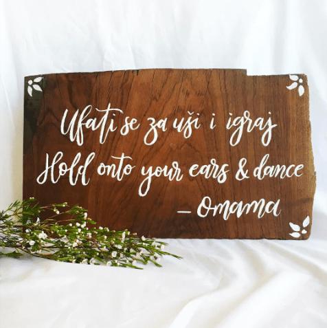 Light of Leni | Signage | Wedding Sign