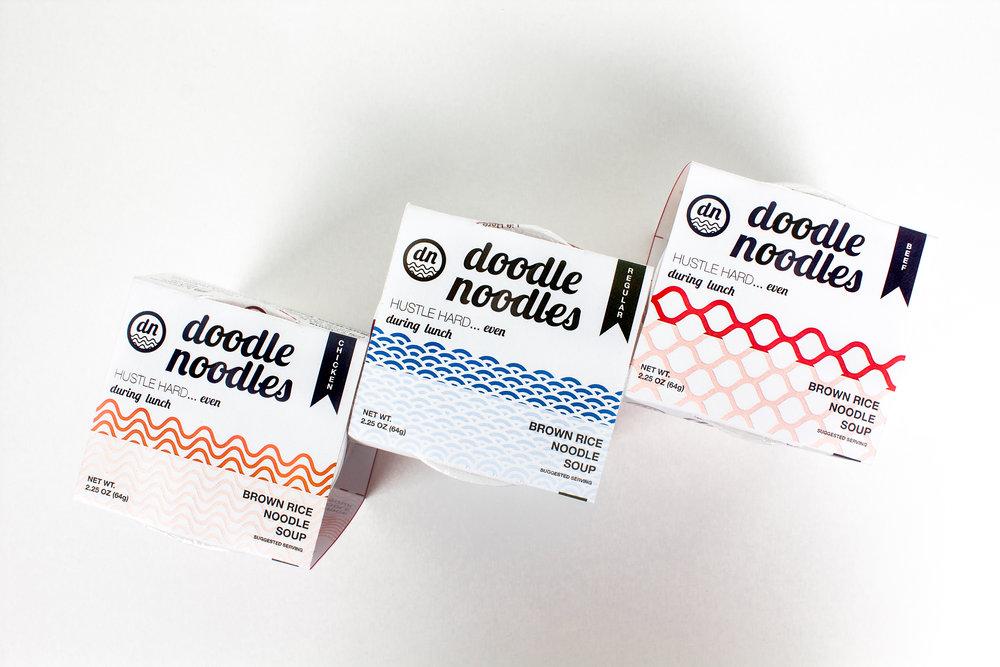 Doodle Noodle Package Design