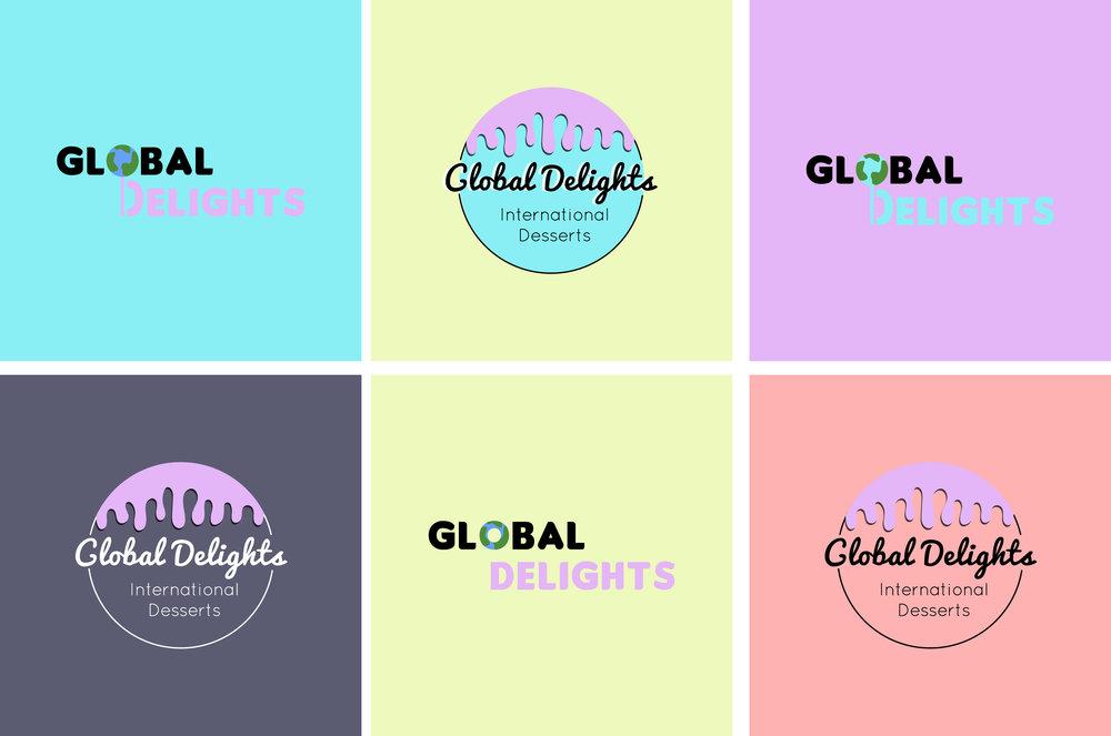 Logo Design Mood Board and Concepts