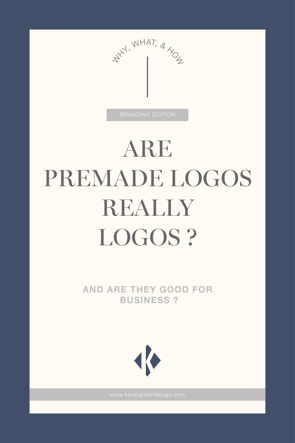 Are Premade Logos Really Logos