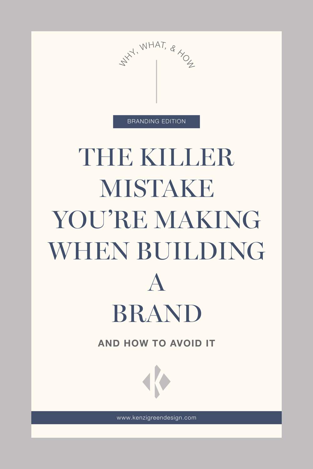 The Killer Mistake You're Making When Building A Brand