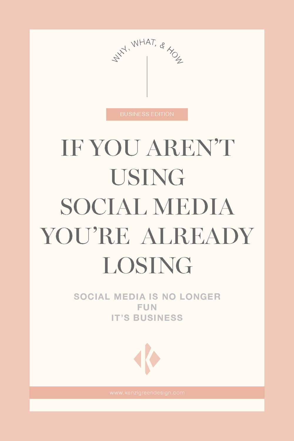 If you aren't using social media you're already losing