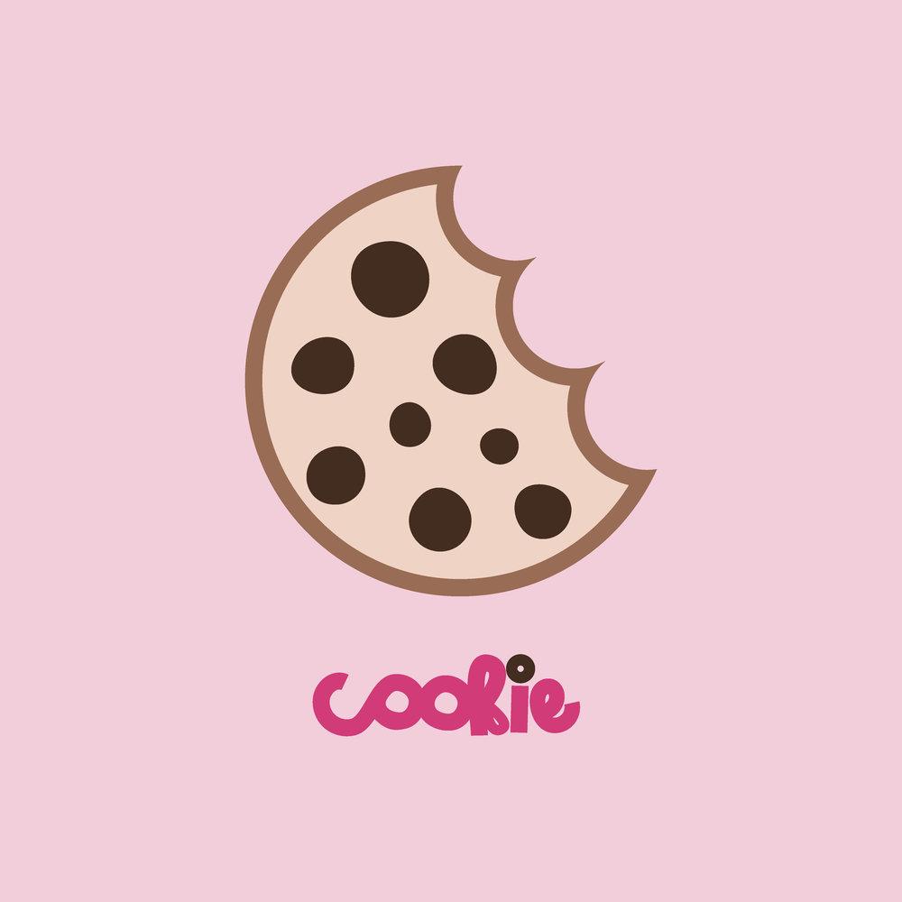cookie logo design by kenzi green design