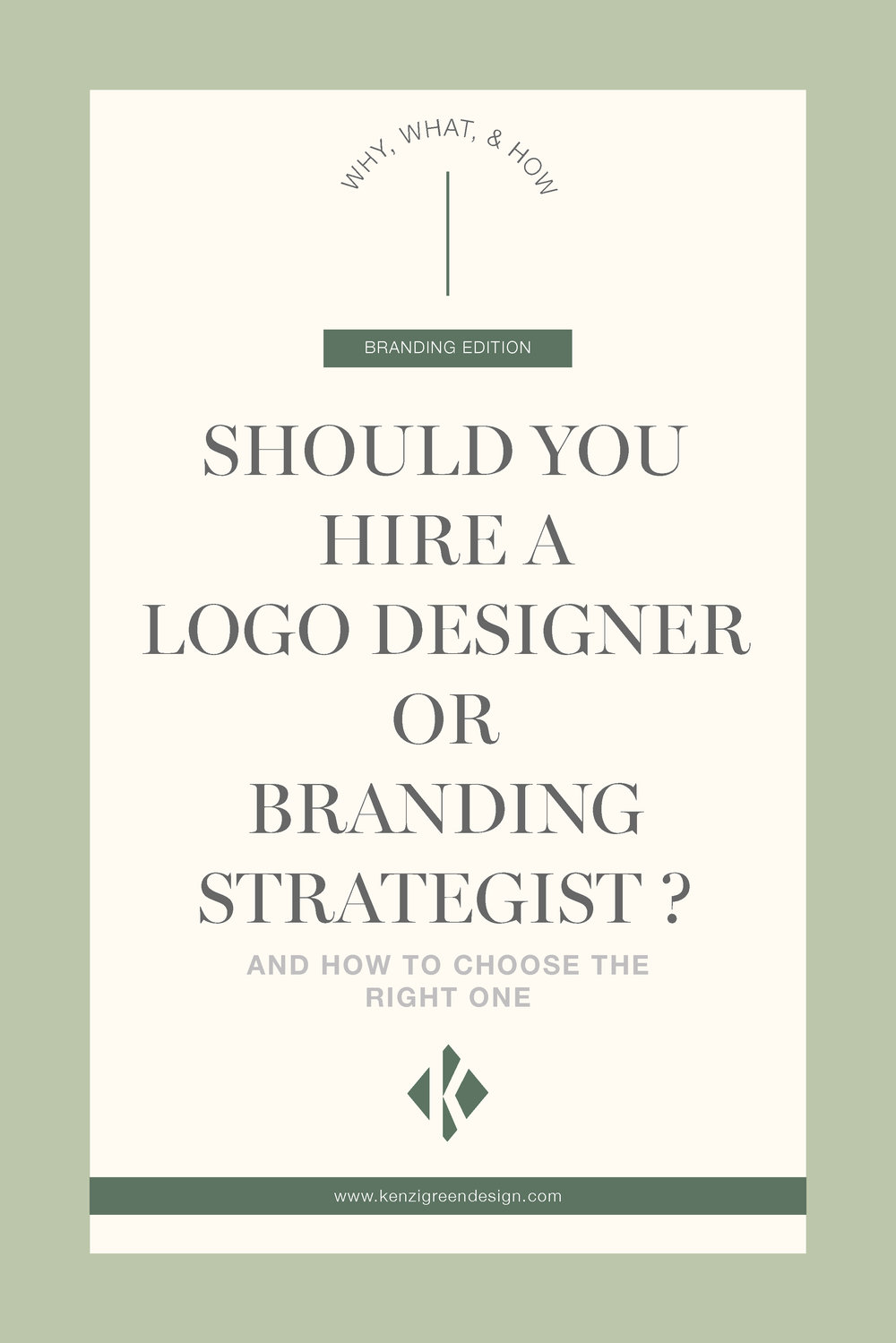 Should You Hire a Logo Designer or Branding Strategist?  And How to Choose the Right One #branding #logodesign #brandidentity #businesstips