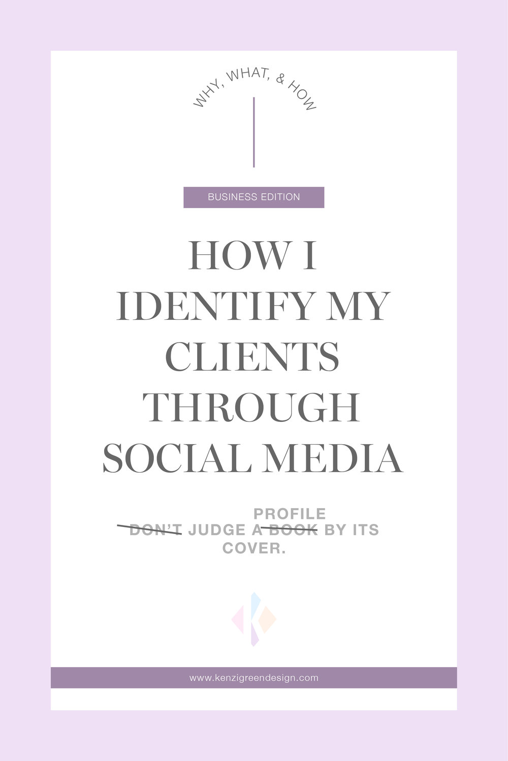 How I Identify My Clients Through Social Media #branding #businesstips #howtofindclients #businessstrategy