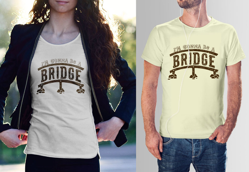 Abi Zambon shirt design, available for purchase through Kickstarter