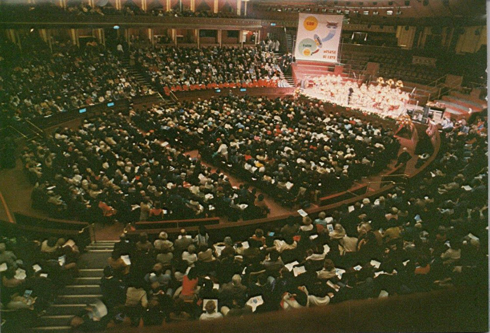Royal Albert Hall, 1978