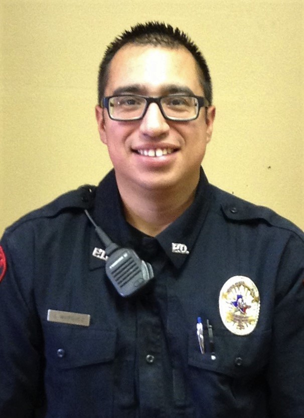 Jonathan Marquez Police Officer