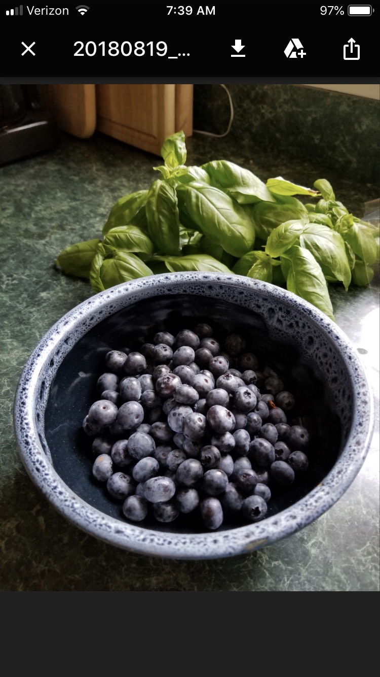 Carol in Arlington shared this picture of her new berry bowl