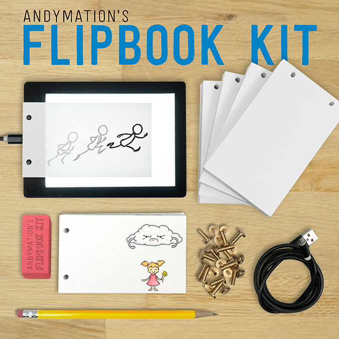 Andymation's Flipbook Kit $42