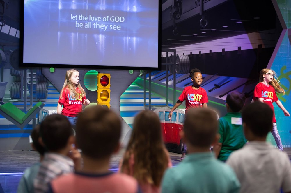 Junior worship TEAM - Help lead in an environment where kids can worship with fun music that is full of hand motions and movement. As a result, you will be helping kids feel welcomed while they praise God together as a small group.
