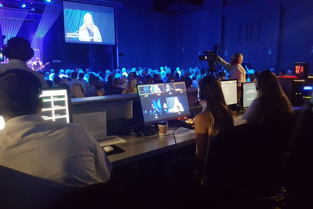Production TEam - Do you have a knack for all things technical? Do you want to learn how to operate a video camera or sound board? As a member of the Production Team, you can assist in a variety of roles to help ensure that LCC's worship services run smoothly.
