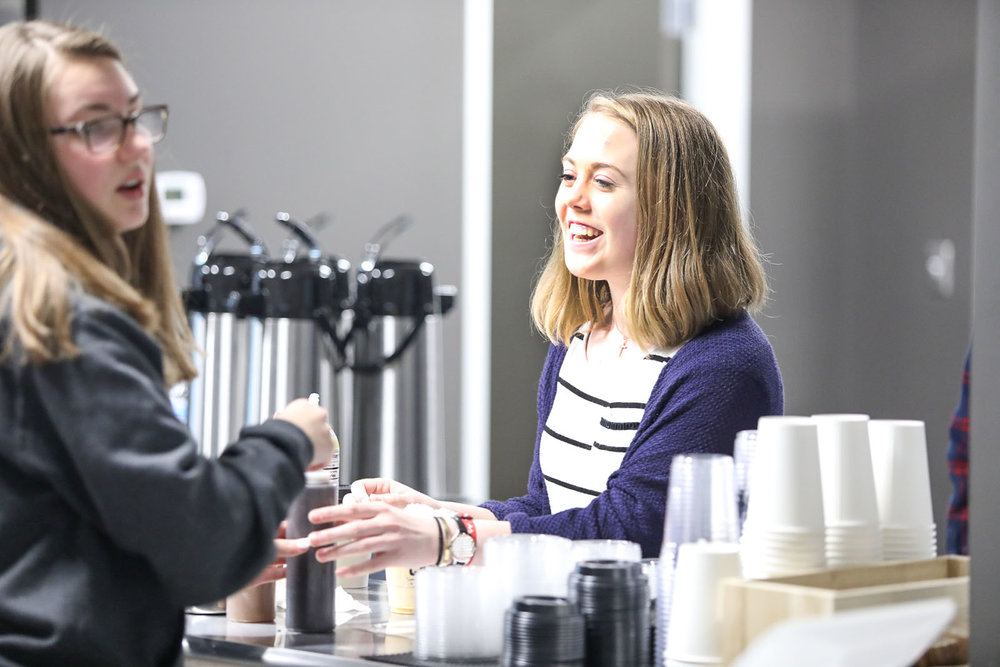 Barista TEAM - If you like to serve other people and make high-quality espresso beverages, fresh-brewed coffee, and other related beverages, then you will be the perfect addition to the Barista Team. You will learn all the tools of the trade while you serve guests at LCC.