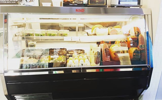 Love seeing our products displaying fantastic local eats! #HowardMcCray. #delicases #shoplocal  #butchershop  #delioptions