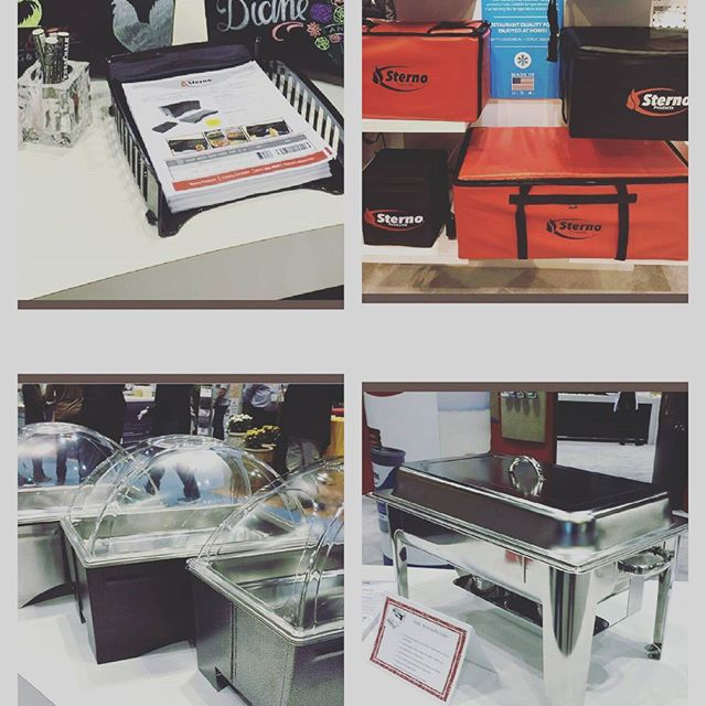 Miss seeing these fantastic products from #Sterno at NRA?  Ask us to see these new items and find out how to best utilize them for your #catering season! #foldablechafer #newproducts #chafingfuel  #CateringIngenuity