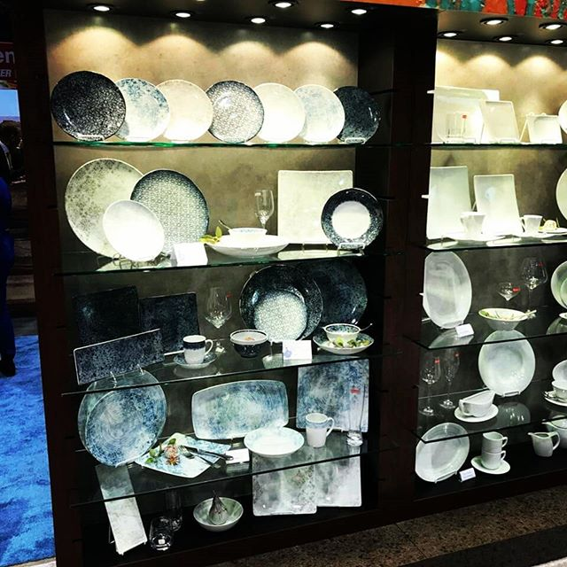 Miss the fun at #NRAShow2018?  Ask us all about the new items! #libbey  #tabletopmatters  #artistrycollection #plateware #glassware