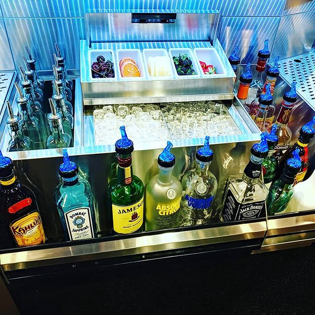Have you seen what's new with Krowne Metal?! Craft Cocktail Stations, pass thru refrigeration, new lighting, and amazing attention to detail! #Krowne #cfsinc #backbar #craftcocktails #mixology #nafem2019