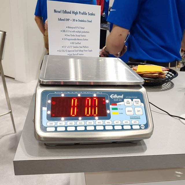 There are scales and then there are Edlund scales!  Make sure you don't leave #nafem2019 without stopping to see the new High Profile Scales from one of the most trusted brands in food service!  #Edlund #Bravoscales #backofthehouse #CFSinc #stainlessinthekitchen #newinfoodservice