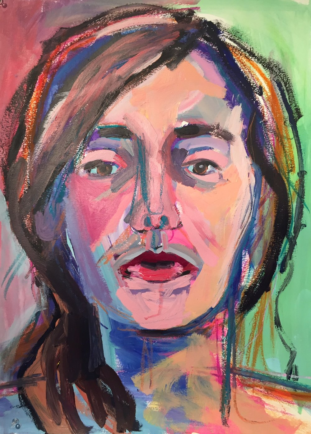 Self Portrait, Mellissa Morris