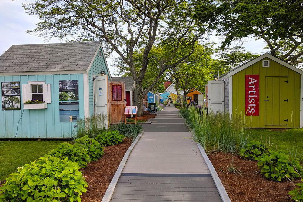 Bismore Park HyArts Shanties: 180 Ocean St, Hyannis MA