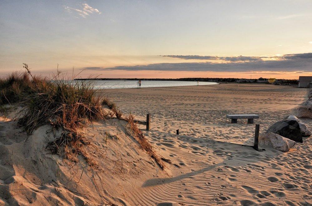 Sunset at Craigville Beach, Centerville