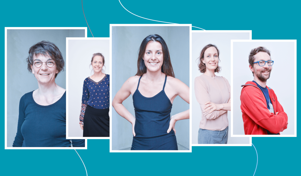 Maintaining brand consistency through photography for Pantarei Approach - Pantarei approach is a somatic bodywork therapy training institute based in Berlin and we provide on-brand portraits for their instructors since 2016.