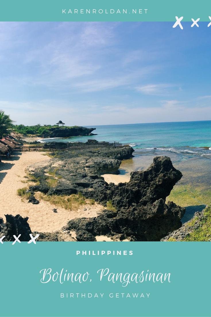 Birthday Getaway: Bolinao, Pangasinan 1