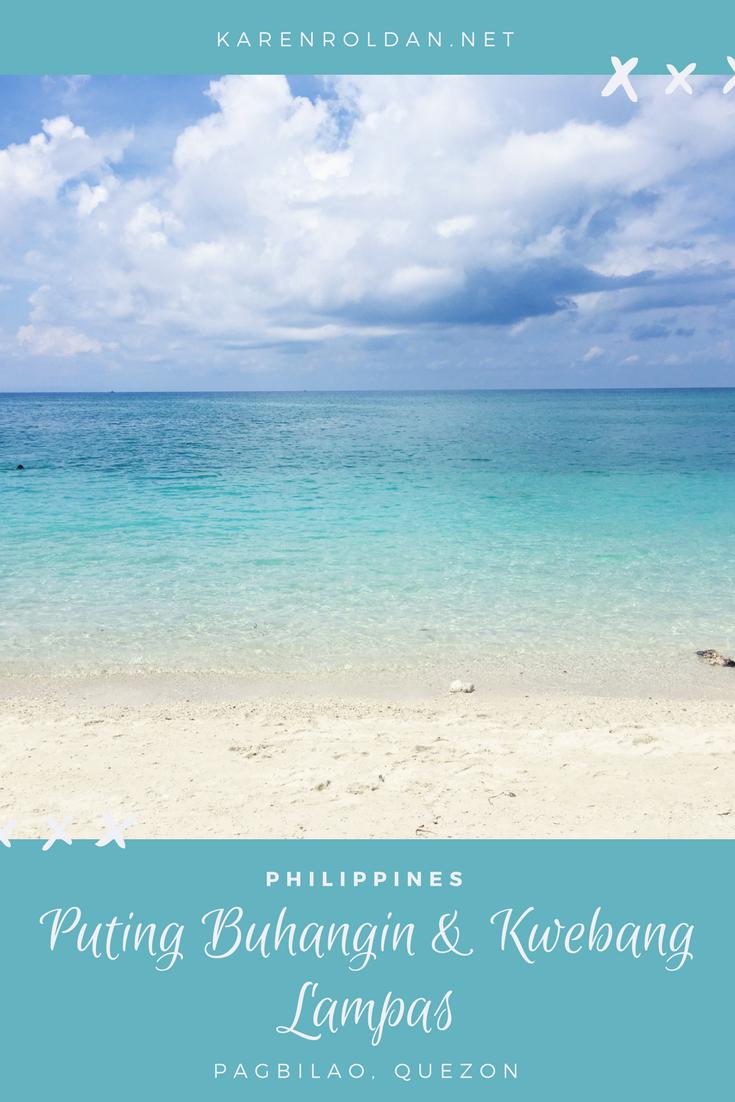 Weekend Getaway: Puting Buhangin and Kwebang Lampas 1