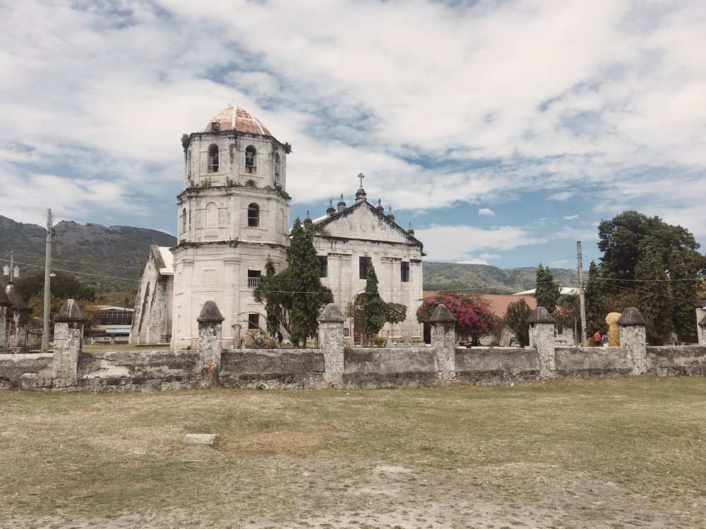 Did you know that this cut coral stone-built church was finished after 18 years? -