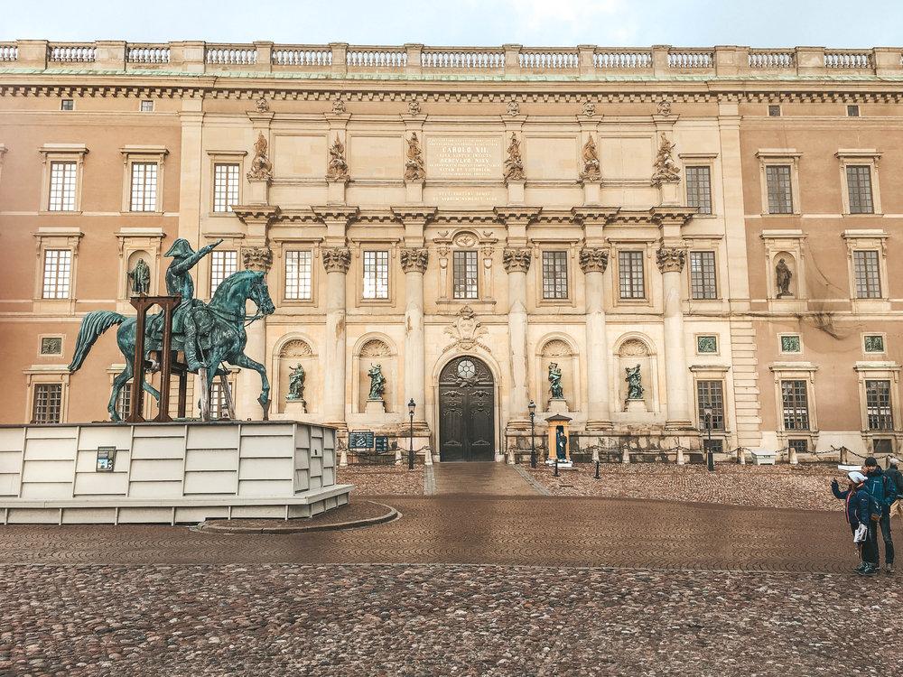 The Royal Palace - 107 70 Stockholm