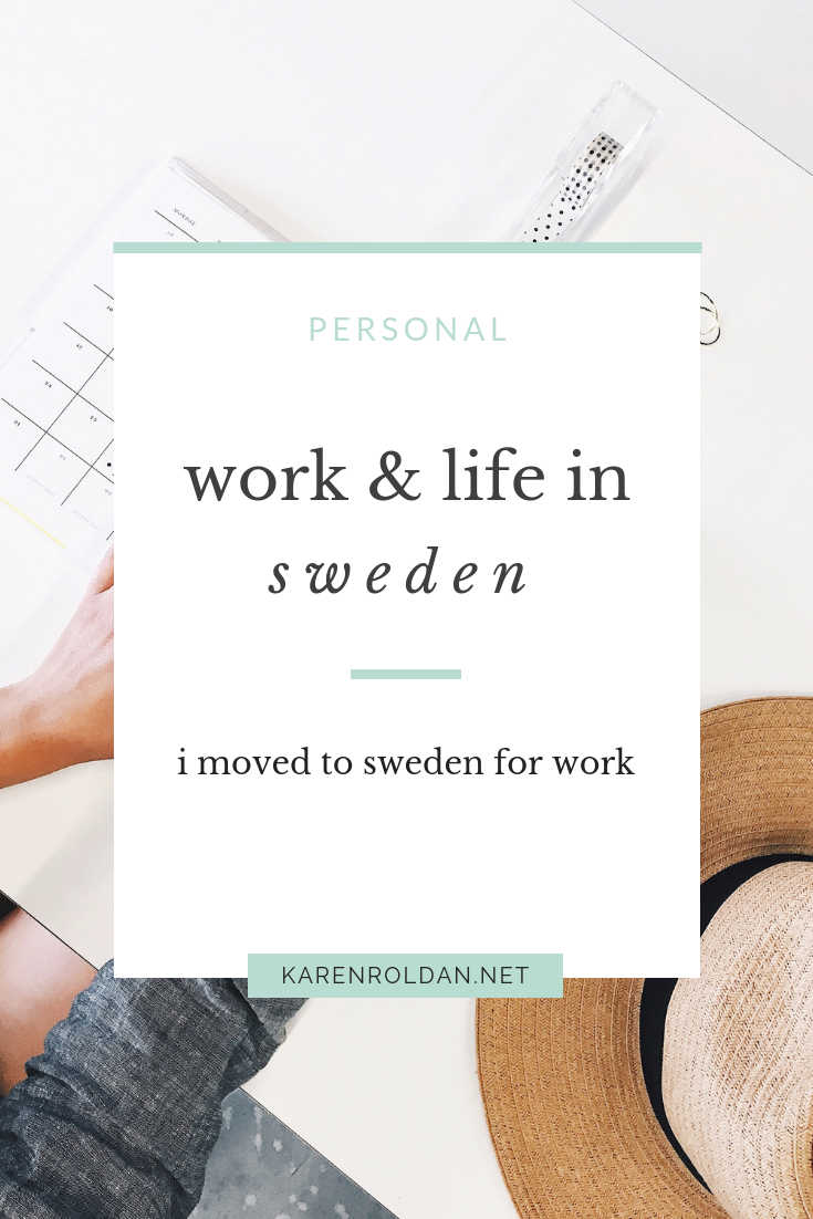 Working abroad is very new to me.  But, I am still excited to share with you my work experiences in Sweden. Here are the most common questions that I got.