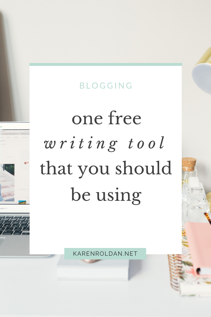 One Free Writing Tool That You Should Be Using 1