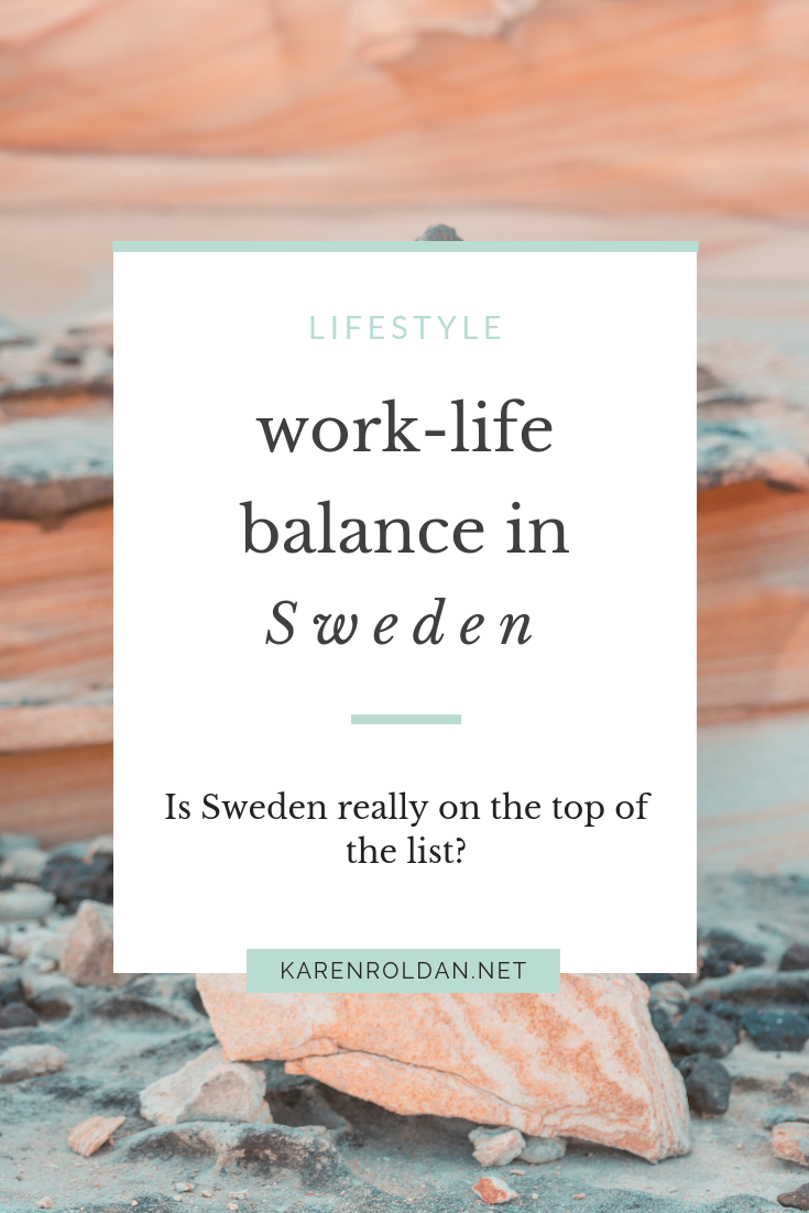 Next week marks my 6th month of working in Stockholm. Time flies so fast; soon I'm done with my probationary period at work. I have learned so much during those 6 months, and I know that I still have more to learn. When you hear of work-life balance, you'll always see Sweden in the list. So, really, how true is the work-life balance in Sweden?
