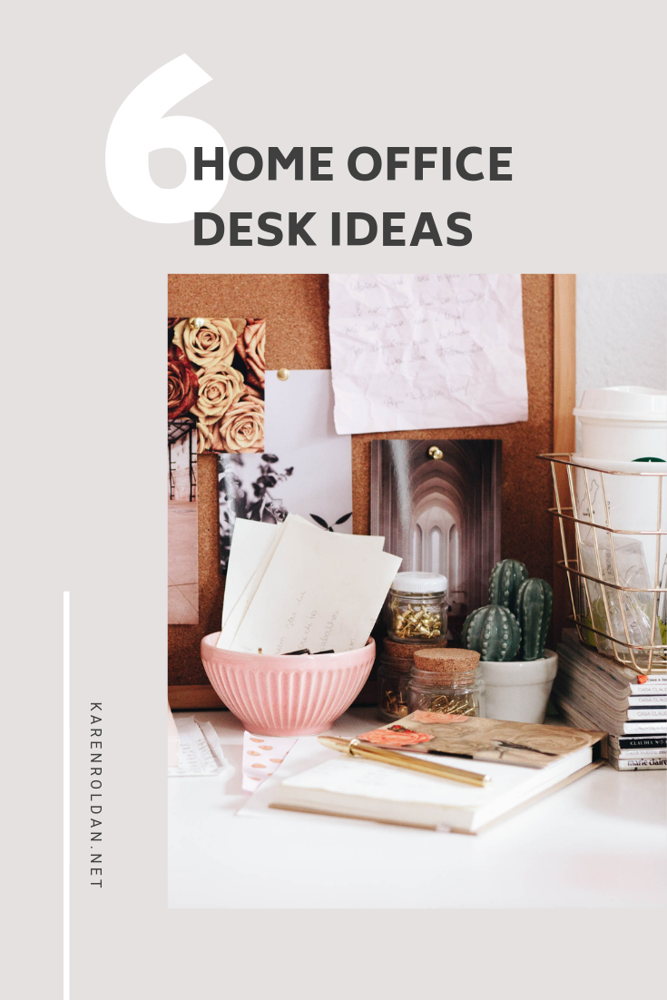 Office Desk Ideas Whether you have a work-from-home job or you go to an office