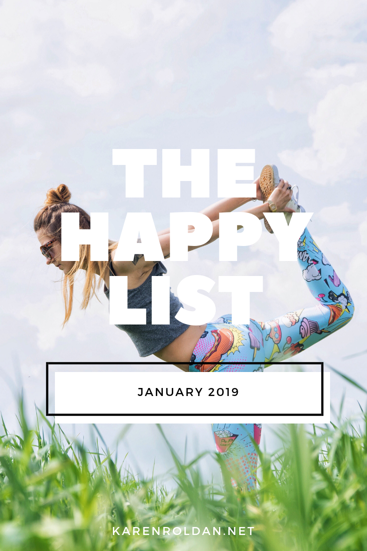 I didn't plan on starting my happy list in this blog again. When I checked my last happy list, I read that I talked about self-love too. I guess all I can say is practicing self-love takes time, and your own concept of self-love is different from other's. We just need to respect each other's priorities.