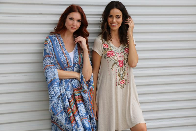 The Caite & Kyla woman is free spirited and adventurous. She is comfortable with herself and dresses for no one but herself! She is the modern busy woman of today and she comes in all ages, shapes and sizes!