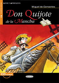 Don Quijote de la Mancha    With profound humanity and marvelous use of language, Cervantes tells the story of Don Quijote, an honest idealist with a big heart who rejects the world and escapes into a world of his own.