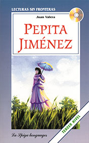 Pepita Jiménez    In this classic 19th century novel a young seminarian spends time at his deceased uncle's estate and falls in love with a young, charming widow.