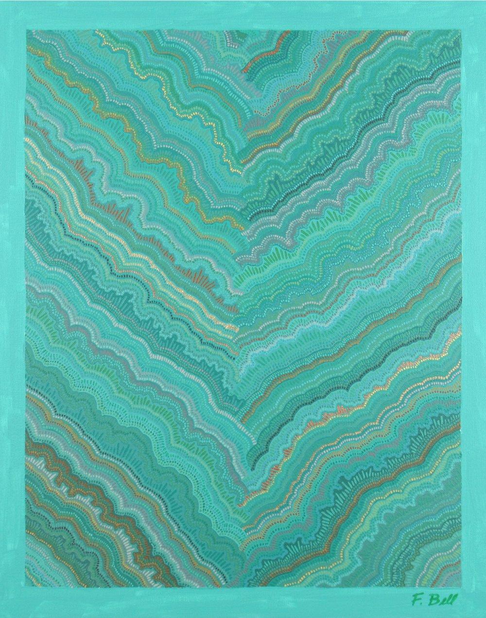 Birch II , 2017, 16x20, acrylic on canvas. sold.