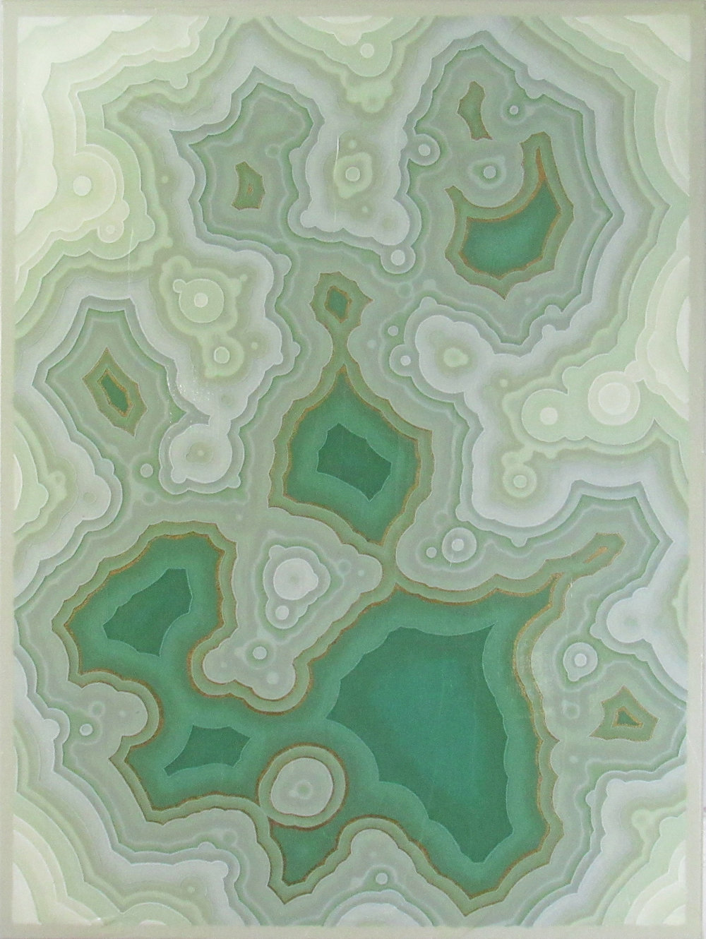 Agate V , 2017, 30x40, acrylic on canvas. available.