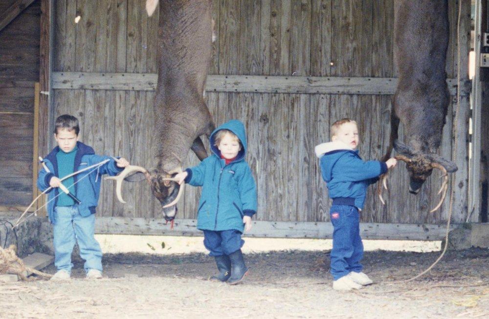 Three Kids in Barn Mullaneys (2).jpg
